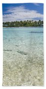 Tuamatu Islands Beach Towel