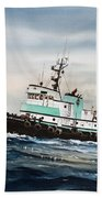 Tugboat Island Champion Beach Towel