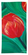 Tulip Diva By Jrr Beach Towel by First Star Art