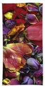 Tulip Heads Beach Towel