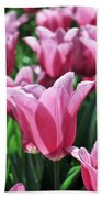 Tulip Heaven Beach Towel