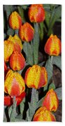 Tulip Mania Beach Towel