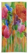 Tulip Palooza Beach Towel