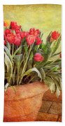 Tulip Tumble Beach Towel