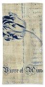 Tulip - Vivre Et Aimer S04t03t Beach Towel