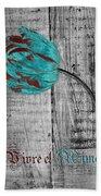Tulip - Vivre Et Aimer S12ab4t Beach Sheet