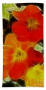 Tulips-6681-fractal Beach Sheet
