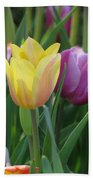 Tulips - Caring Thoughts 03 Beach Towel