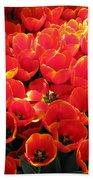 Tulips - Field With Love 29 Beach Towel