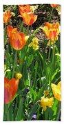 Tulips - Field With Love 41 Beach Towel