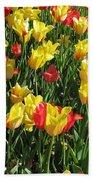 Tulips - Field With Love 49 Beach Towel