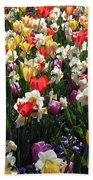Tulips - Field With Love 57 Beach Towel