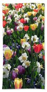 Tulips - Field With Love 58 Beach Towel