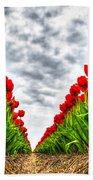 Tulips Part IIi Beach Towel