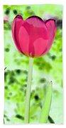 Tulips - Perfect Love - Photopower 2070 Beach Towel