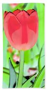 Tulips - Perfect Love - Photopower 2089 Beach Towel