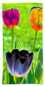 Tulips - Perfect Love - Photopower 2168 Beach Towel