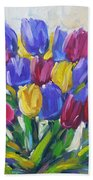Tulips Time Love The Spring By Prankearts Beach Towel