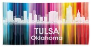 Tulsa Ok 2 Beach Towel