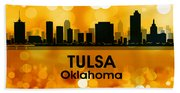 Tulsa Ok 3 Beach Sheet