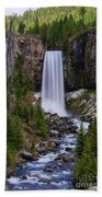Tumalo Falls - Oregon Beach Towel