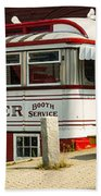 Tumble Inn Diner Claremont Nh Beach Towel by Edward Fielding