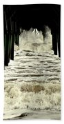 Tunnel Vision Beach Towel by Karen Wiles