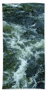Turbulance At Loch Ness Beach Towel