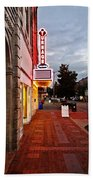 Turnage Theater Grand Opening Beach Sheet by Joan Meyland