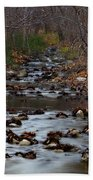 Turner Falls Stream Beach Towel