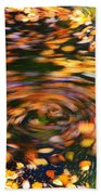 Turning Leaves Beach Towel
