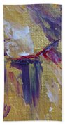 Turning To Gold Beach Towel