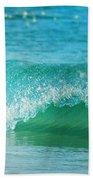 Turquois Waves  Beach Towel