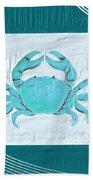 Turquoise Seashells Xix Beach Towel