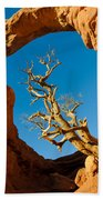 Turret Arch, Arches National Park Beach Towel