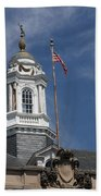 Turret Main Post Office Annapolis Beach Towel