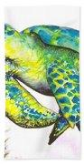 Turtle Wonder Beach Towel