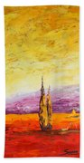 Tuscan Blast Crop Beach Towel
