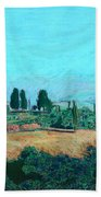 Tuscan Farm Beach Towel