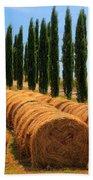 Tuscan Hay Beach Towel