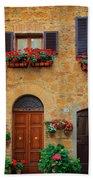 Tuscan Homes Beach Towel
