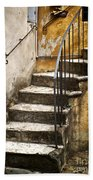 Tuscan Staircase Beach Towel