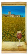 Tuscan View Beach Towel