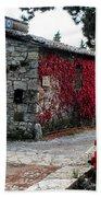 Tuscany Vineyard  Beach Towel