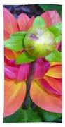 Tutu Dancer Flower Beach Towel