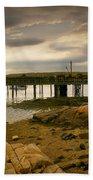 Twilight Cape Porpoise Maine Beach Towel