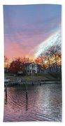 Twilight Colors Beach Towel