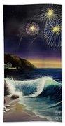 Twilight's Last Gleaming Beach Towel