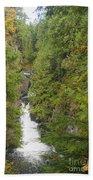Twin Falls Cascade II Beach Towel