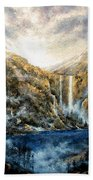 Twin Falls Beach Towel